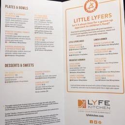 Photos For Lyfe Kitchen Menu Yelp
