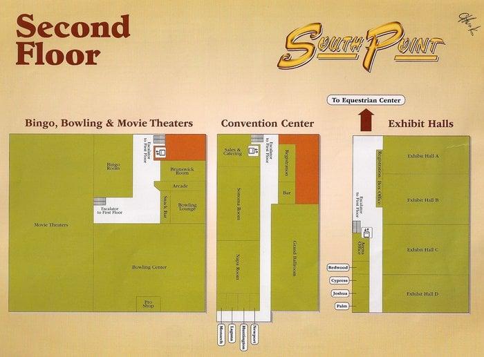 2nd Floor Map Yelp