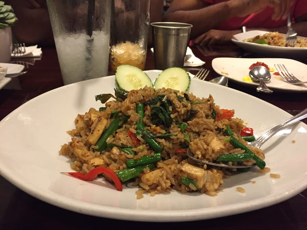 Ka pow rice with tofu yelp for Ayara thai cuisine