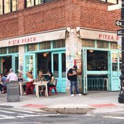 Clean Bright Front Photo Of Pizza Beach New York Ny United States Exterior