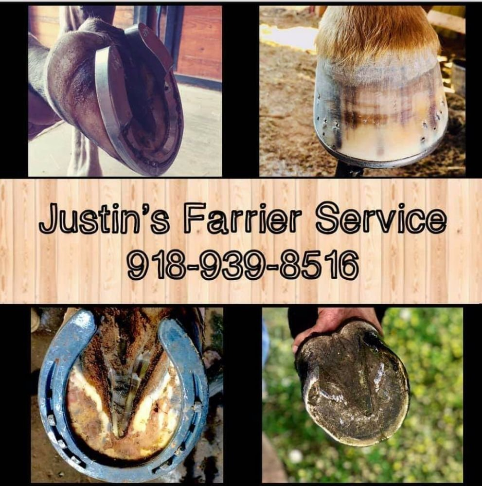 Justin's Farrier Service: 18516 W 311th St S, Bristow, OK