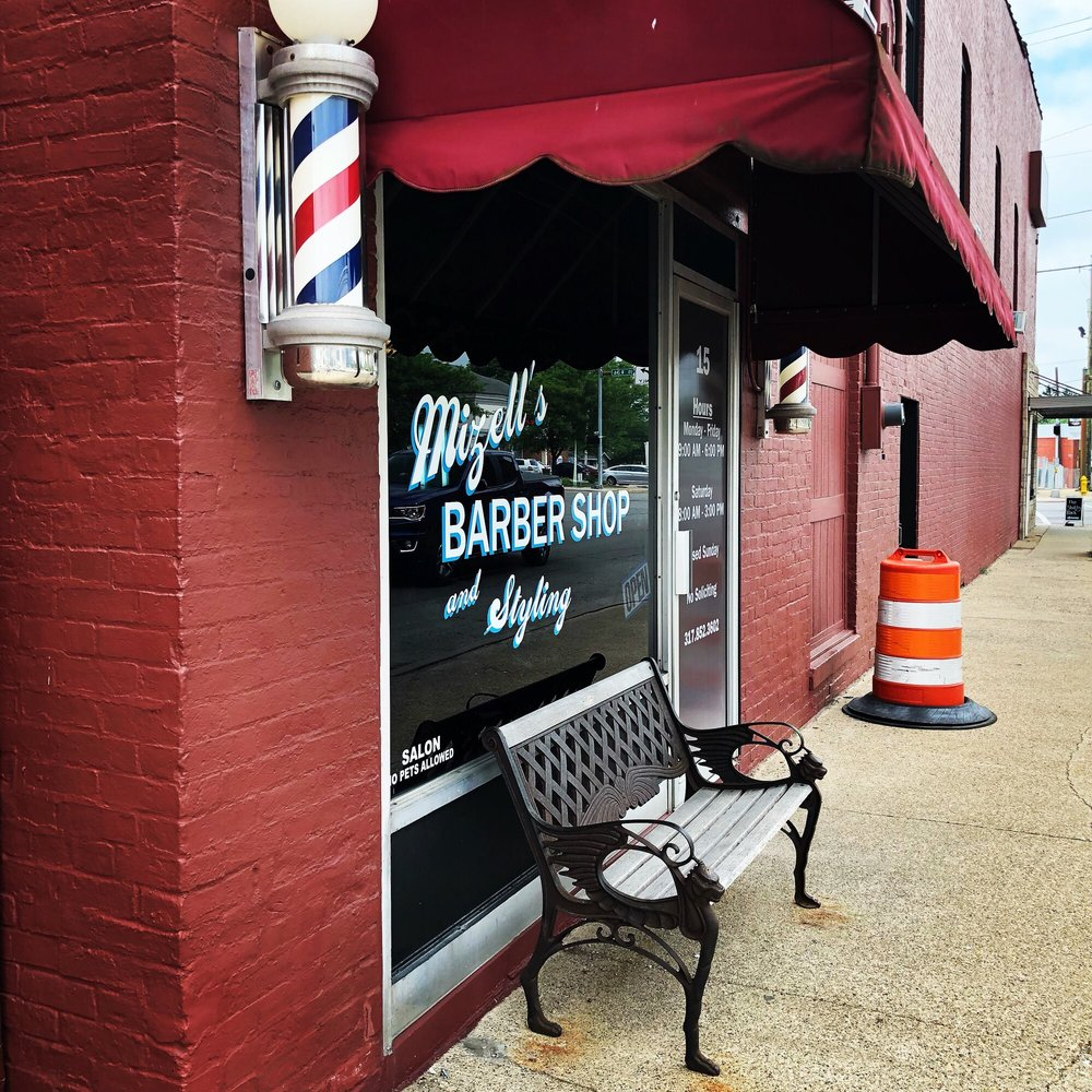Mizell's Barber Shop: 15 N Green St, Brownsburg, IN
