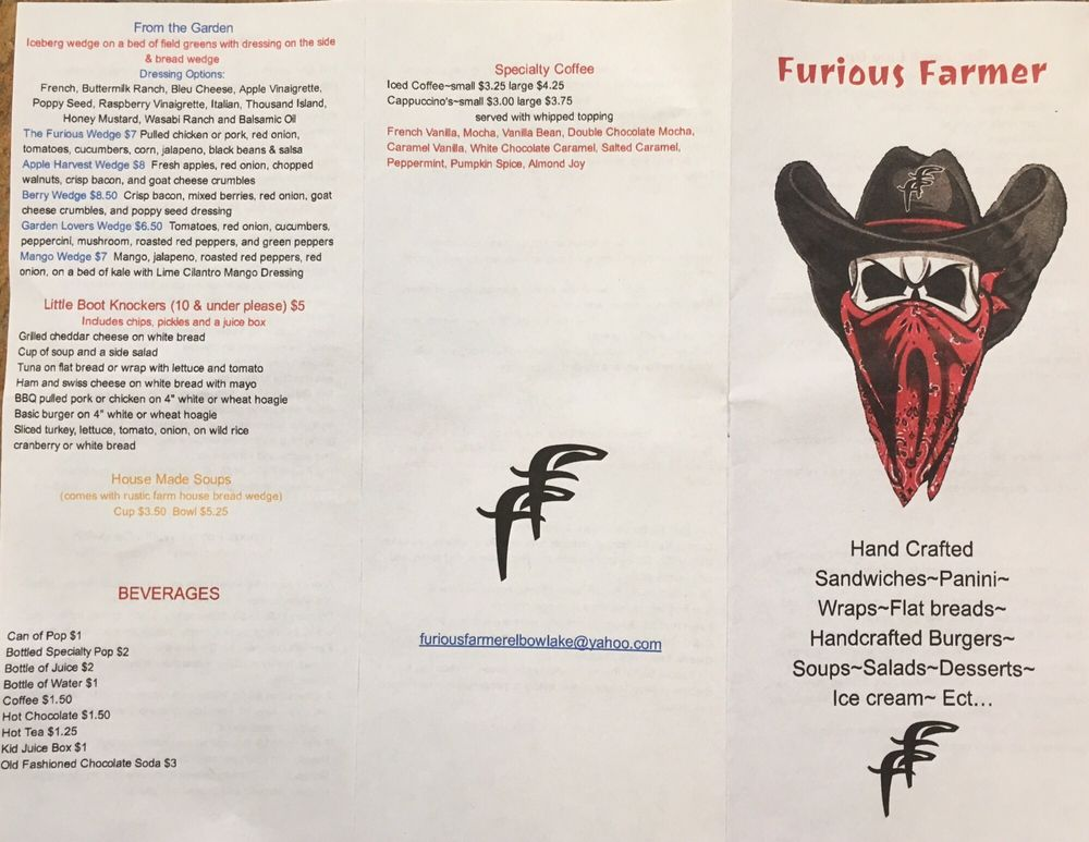 Furious Farmer: 720 2nd St NE, Elbow Lake, MN