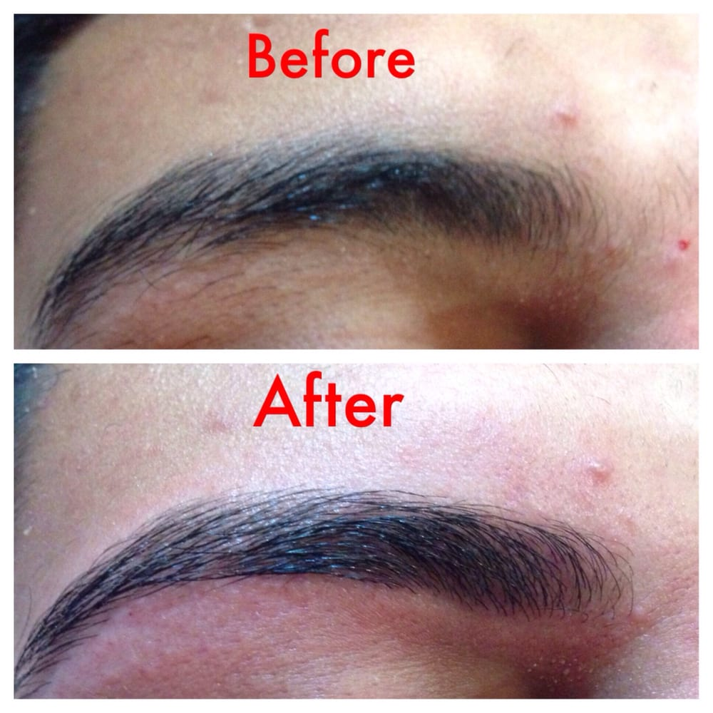 Threading Is For Men Too We Can Just Clean Up Mens Eyebrow Without