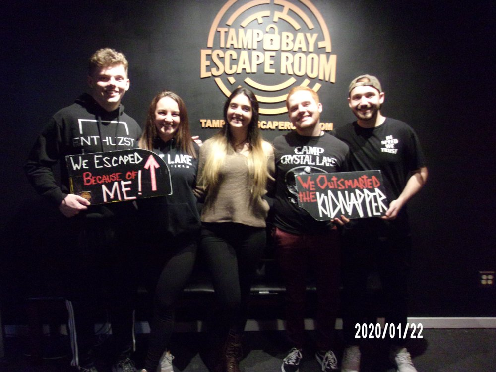Tampa Bay Escape Room: 625 Cleveland St, Clearwater, FL