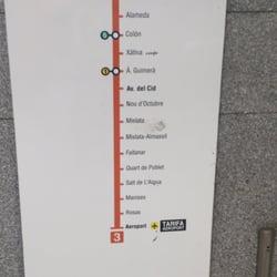 metro machado transports en commun carrer poeta eduardo buil 1 benimaclet valence. Black Bedroom Furniture Sets. Home Design Ideas