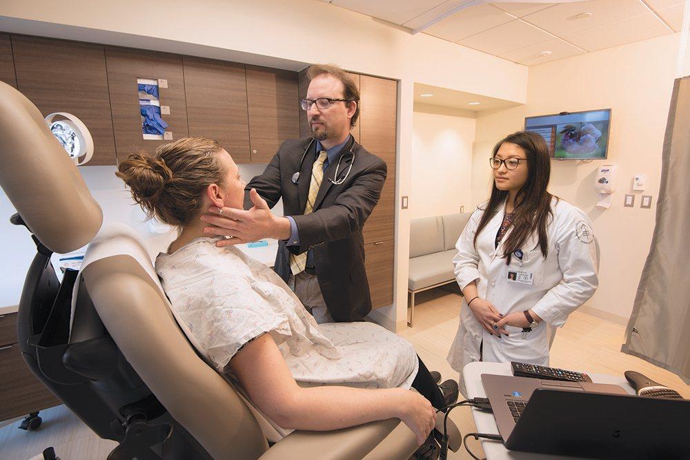 Lymphoma expert Paul Hamlin, Chief of Medical Oncology at