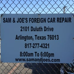Sam And Joe S Foreign Car Repair 14 Reviews Auto Repair 2101