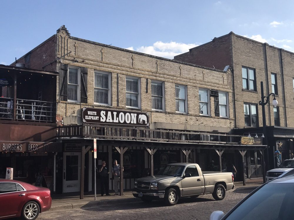 White Elephant Saloon: 106 E Exchange Ave, Fort Worth, TX