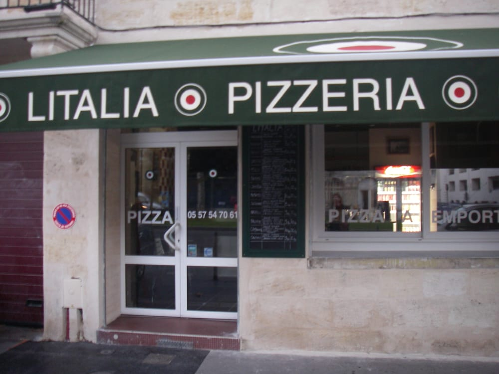 Litalia pizza 12 avenue thiers bastide bordeaux - Cabinet radiologie avenue thiers bordeaux ...