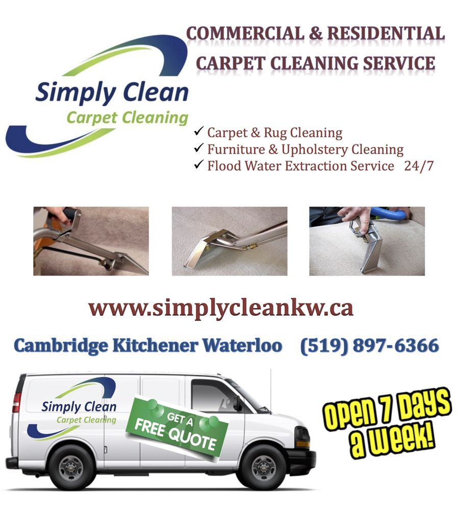 Kitchener, Waterloo, Cambridge, Guelph Carpet Steam Cleaning Service ...