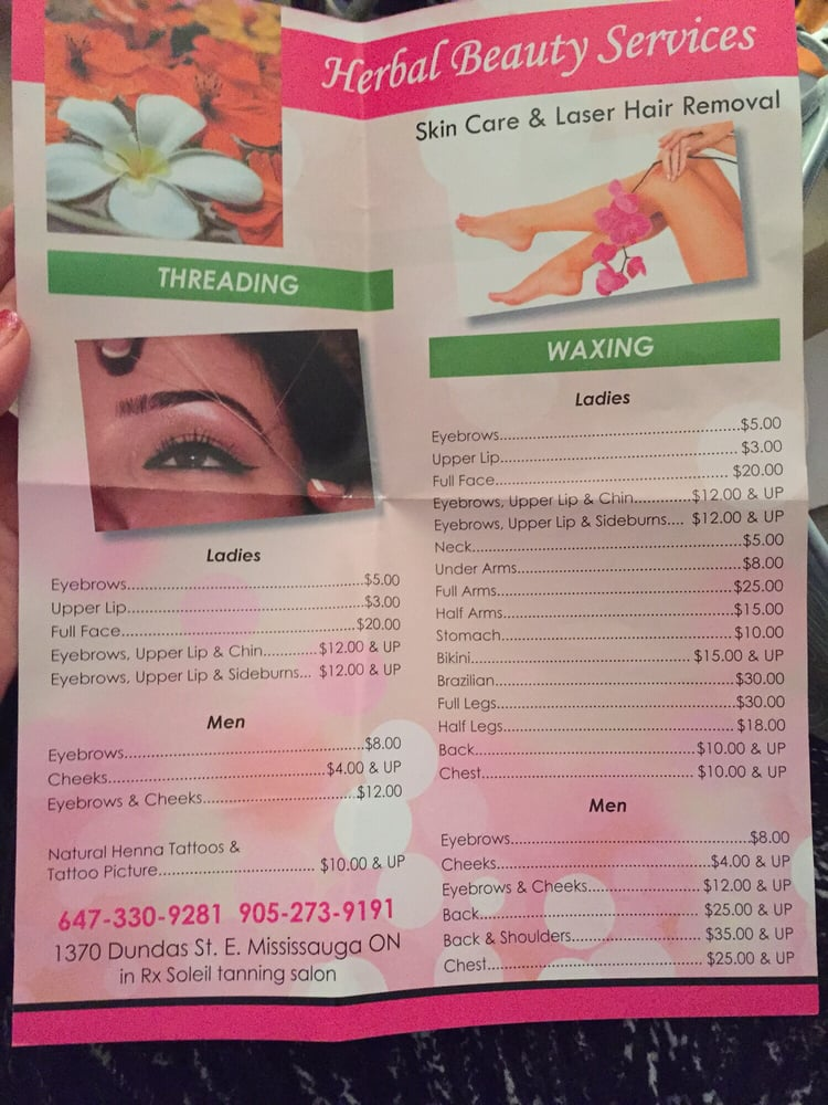 Waxingthreading Prices Yelp