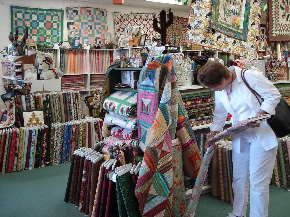 Cactus Quilt Shop Fabric Stores 7921 N Oracle Rd Tucson Az