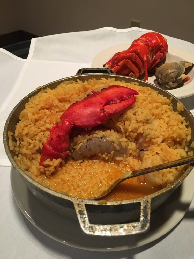 Paella With Half Lobster Very Good Yelp