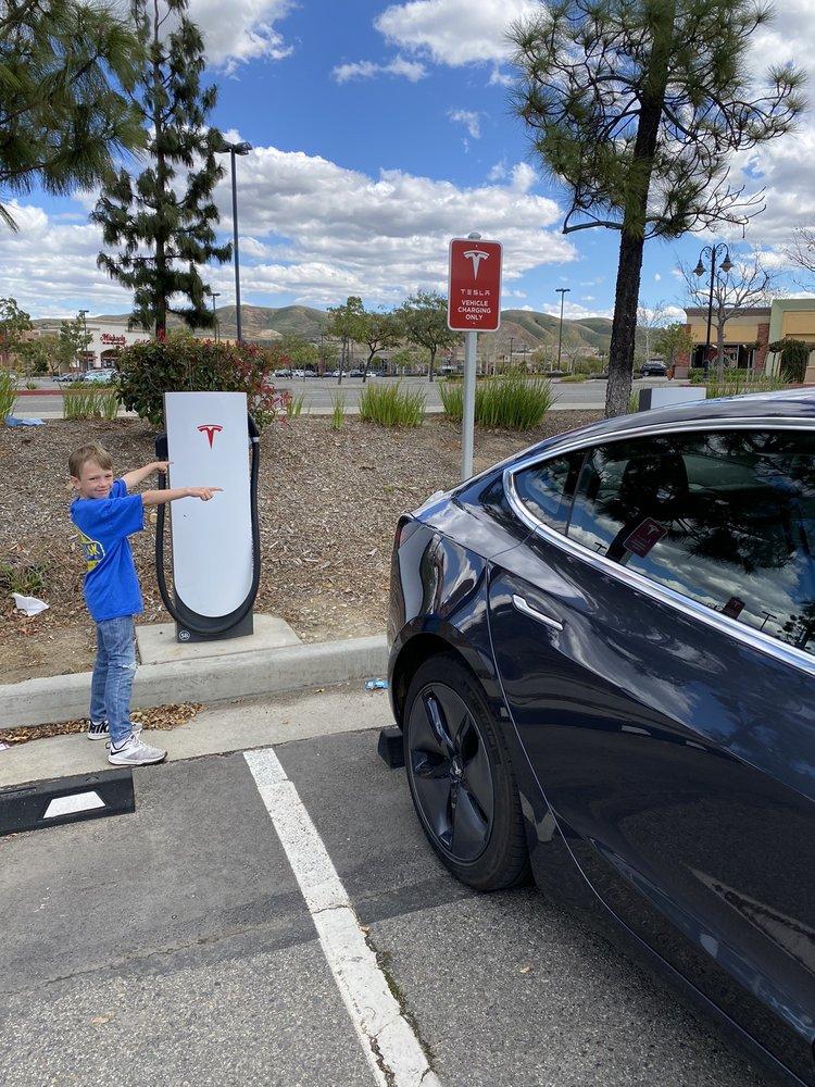 Tesla Supercharger: 2615 Grand Oaks, Corona, CA