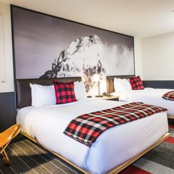 Photo Of Mountain Modern Motel   Jackson, WY, United States. Deluxe Double  Queen
