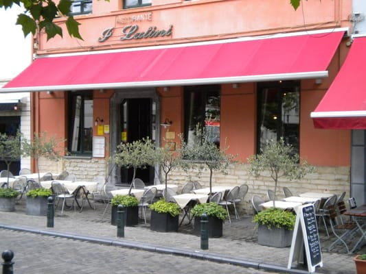 Restaurant Italien Place Sainte Catherine Bruxelles