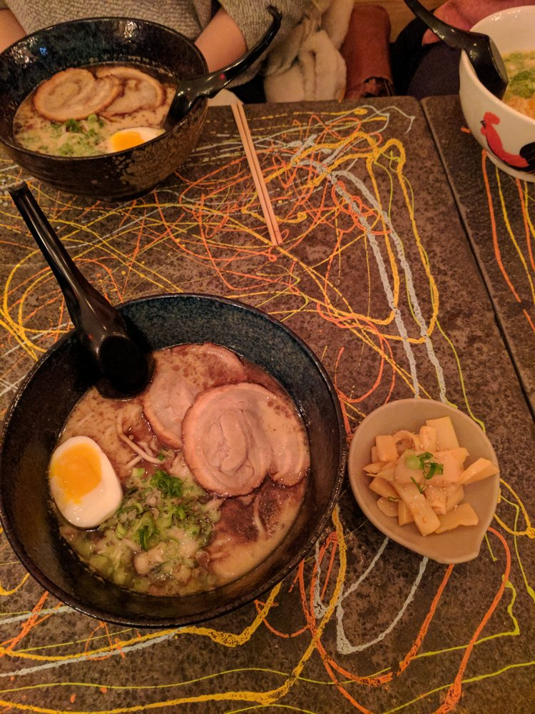 Food from Nana Ramen