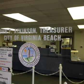 Va Beach City Treasurer