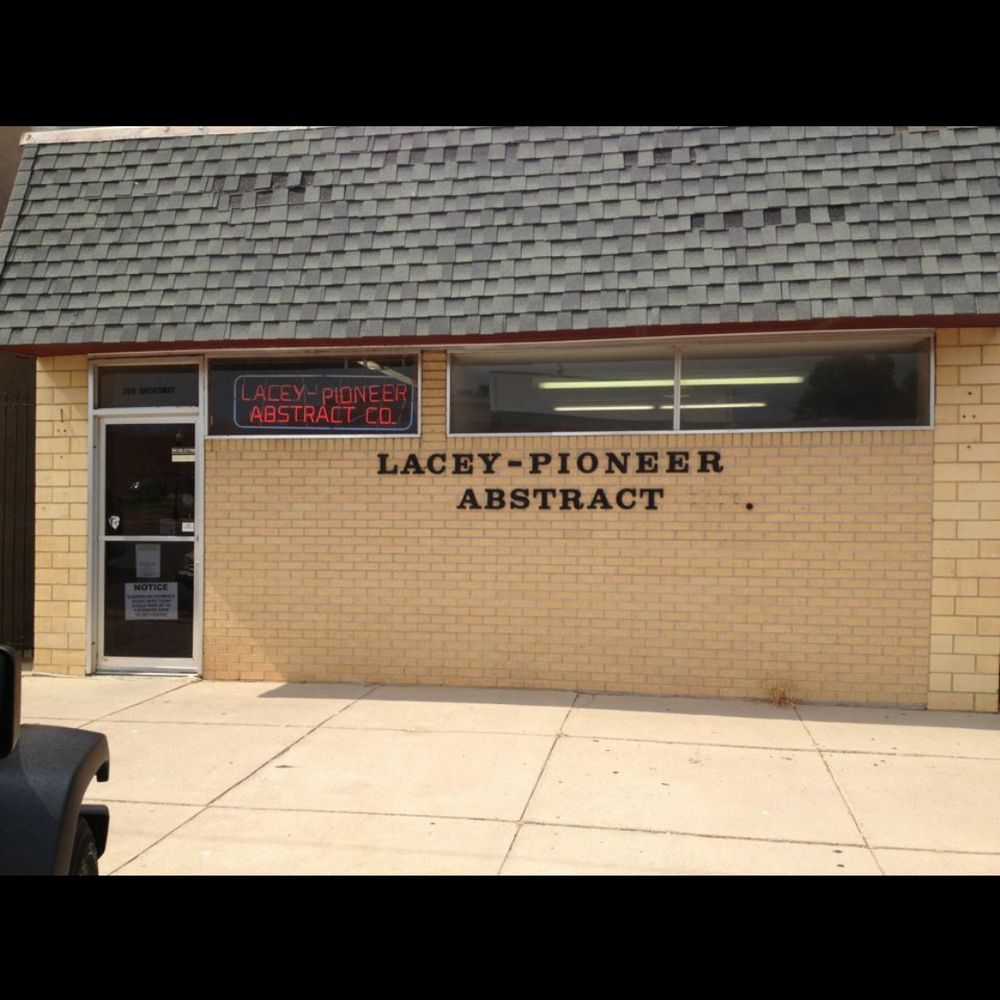 Lacey-Pioneer Abstract Company: 209 W Broadway St, Anadarko, OK