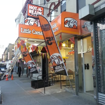 Image result for little caesar store at flatbush