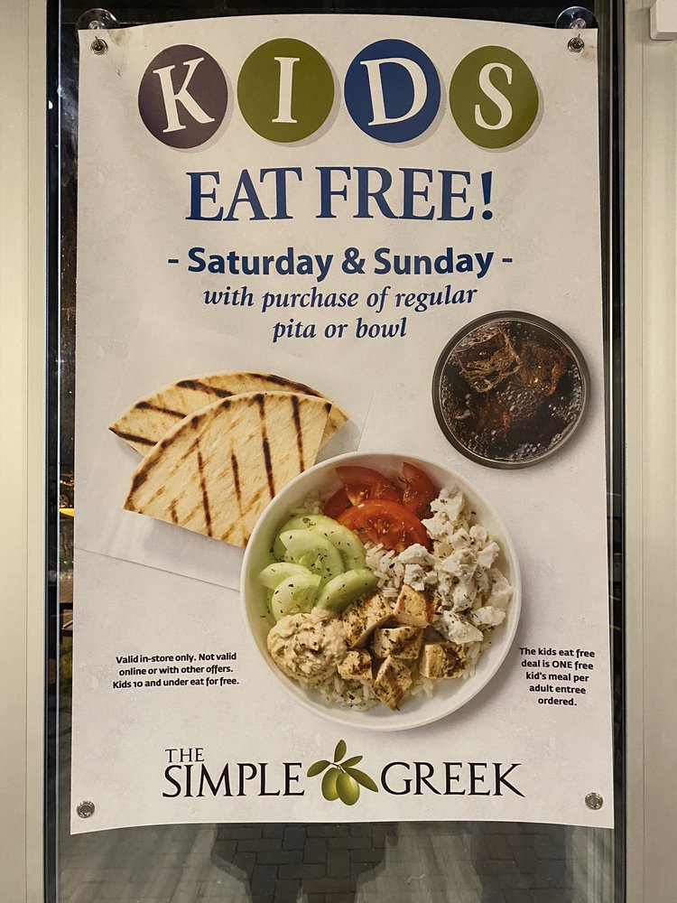 Food from The Simple Greek