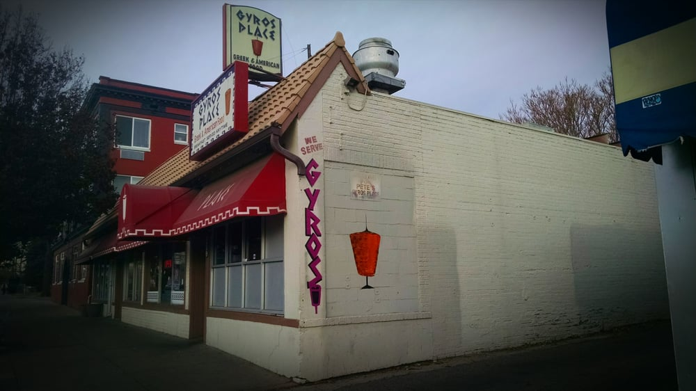 Photo of Pete's Gyros Place - Denver, CO, United States. Pete's Gyros Place