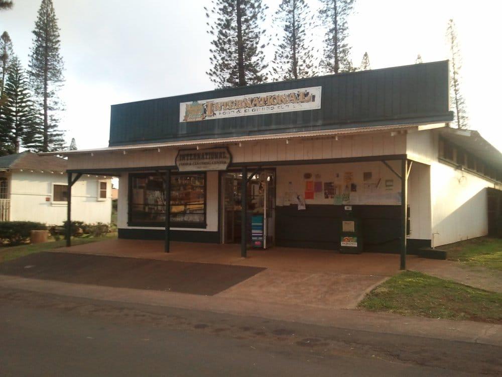 International Food & Clothing Center: 833 Ilima Ave, Lanai City, HI