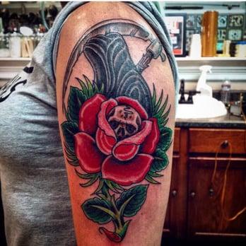 Photo Of Royal Peacock Tattoo Parlor Sacramento Ca United States Jimmy Did