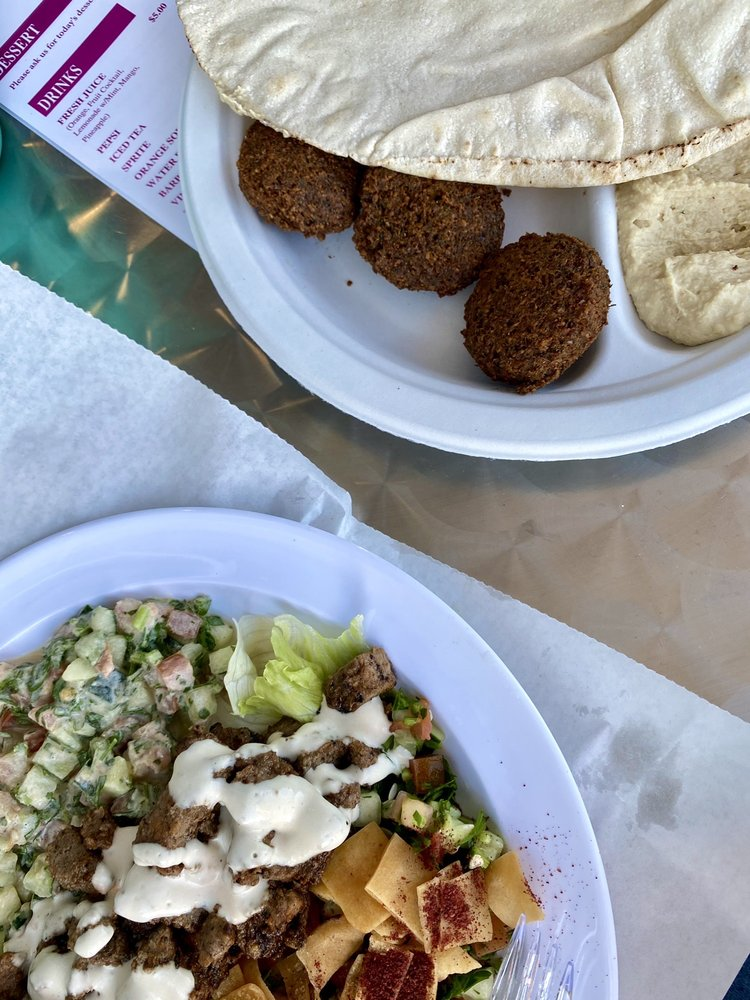 Food from Quick Chick Shawarma And Grill