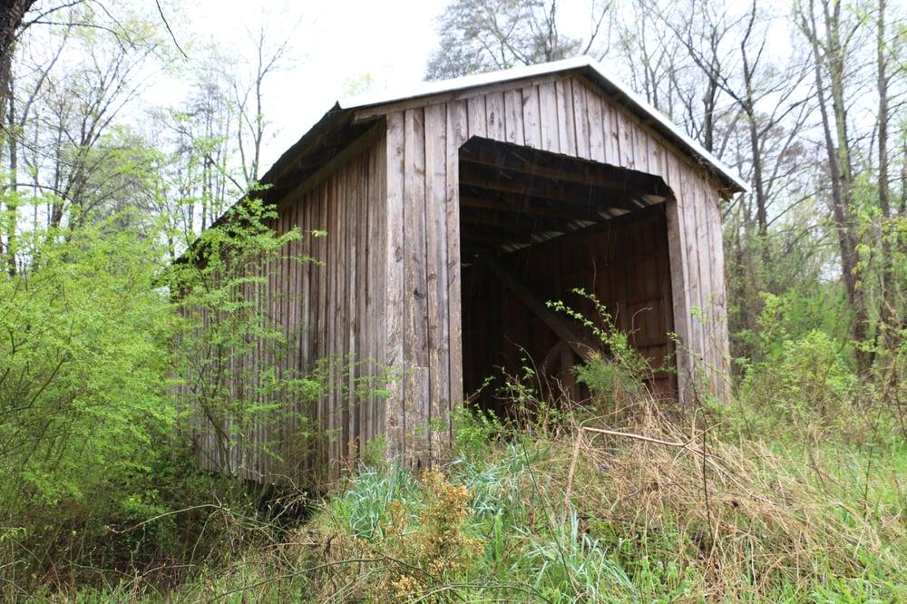 Blind Suzie Covered Bridge: 632-810 Antioch Rd, Gillsville, GA