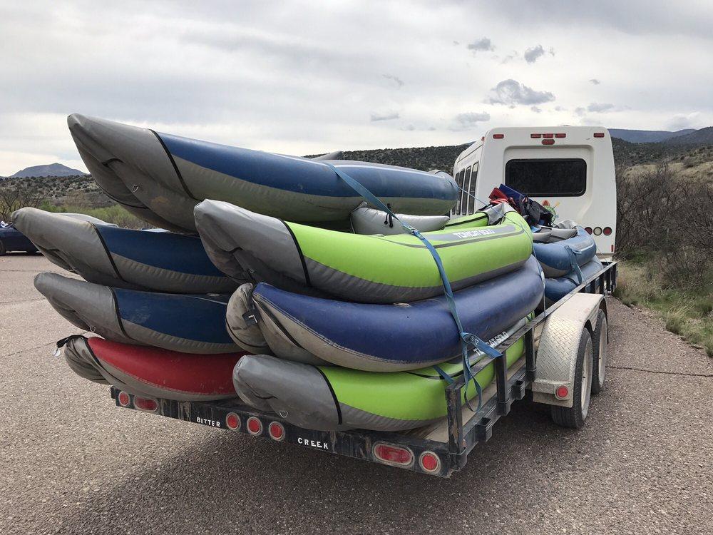 Sedona Adventure Tours & Verde River Rafting/Kayaking: 45 W Hollamon St, Camp Verde, AZ