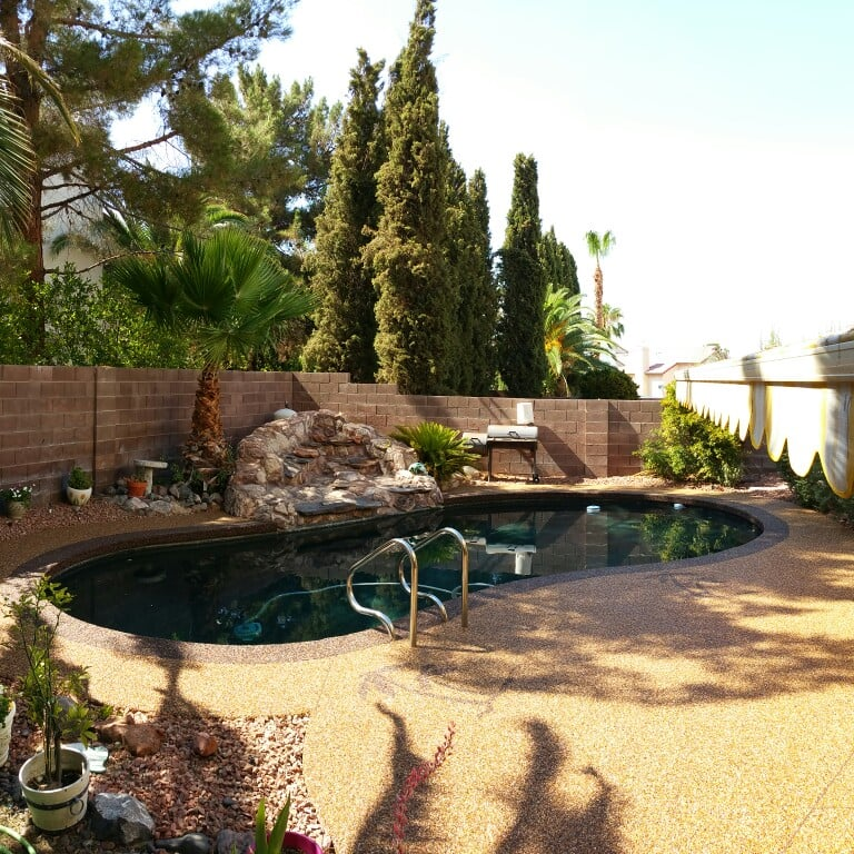 Kool Deck: Check Out The New Pool Deck That We Resurfaced. We Cover