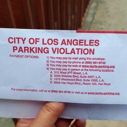 Los Angeles Parking Enforcement >> Photos for City of Los Angeles Parking Violations Bureau ...