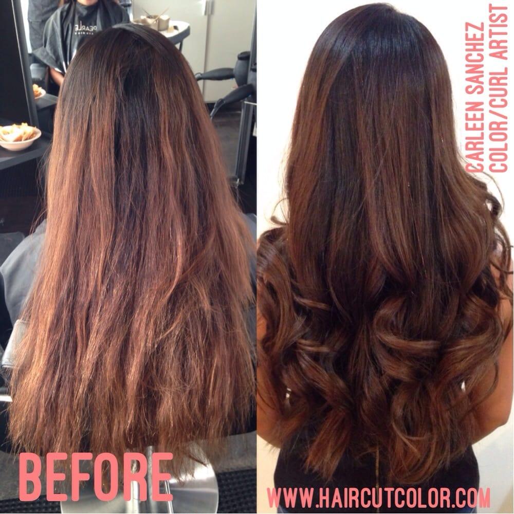Simple Hair Makeover By Northern Nevada Hair Designer Carleen