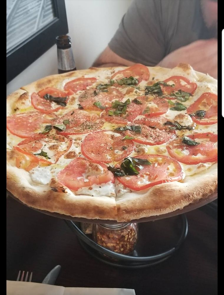 Food from Colarusso's Coal Fired Pizza