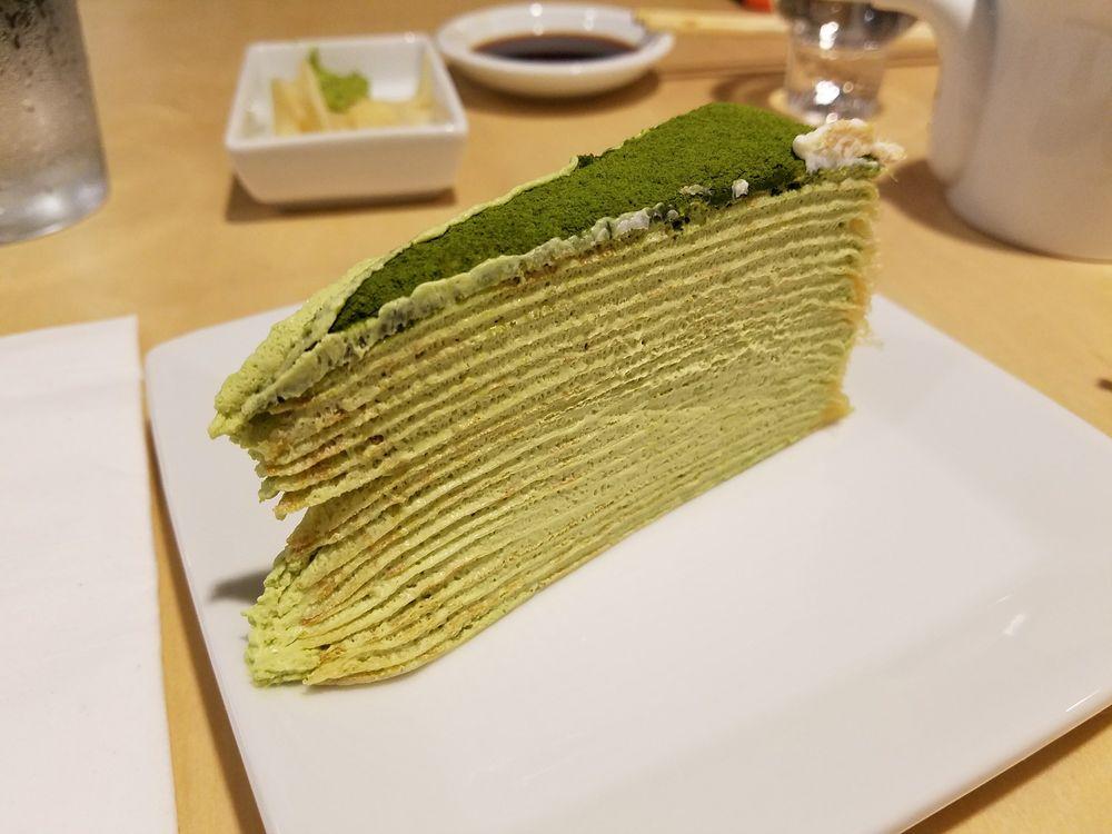 Korean Crepe Cake Recipe: Lady M Green Tea Crepe Cake