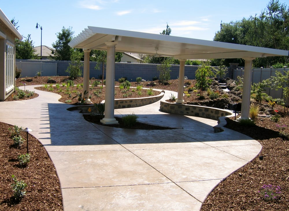 Photo Of Aspen Landscaping   Lodi, CA, United States. Large Duralum Patio  Cover