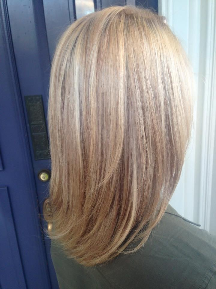Full Head Highlights Lowlights To Create Dimension And