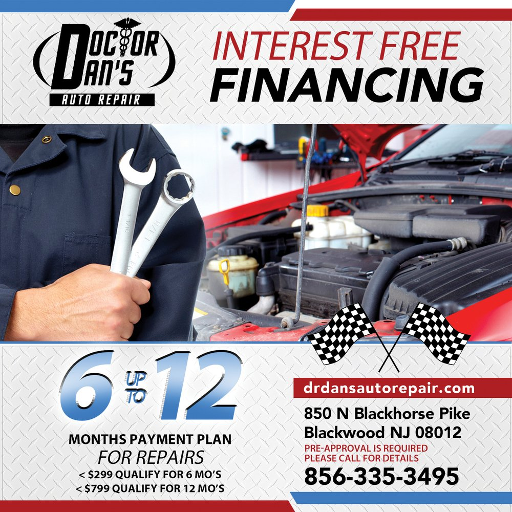 Doctor Dan's Auto Repair: 850 N Blackhorse Pike, Blackwood, NJ