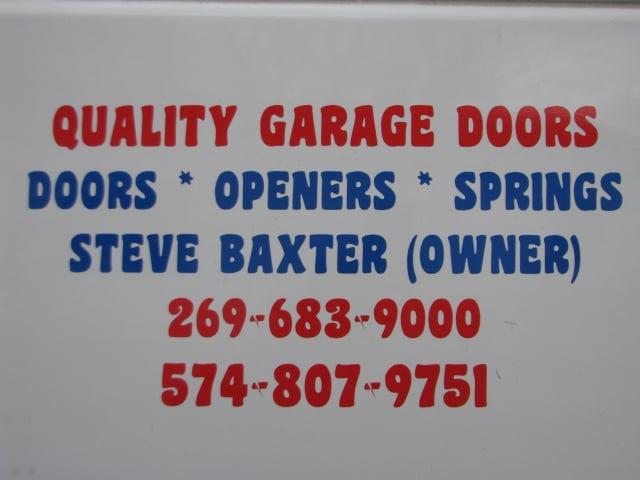 quality garage doorsQuality Garage Doors  Garage Door Services  2011 Lewis Dr Niles