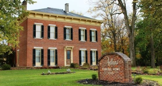 Adkins Funeral Home: 7055 Dayton Springfield Rd, Enon, OH