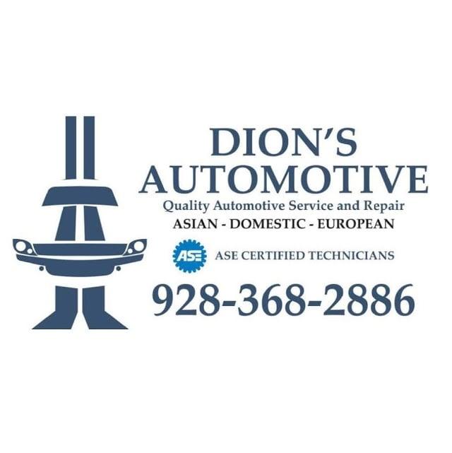 Dion's Automotive: 1625 W White Mountain Blvd, Lakeside, AZ
