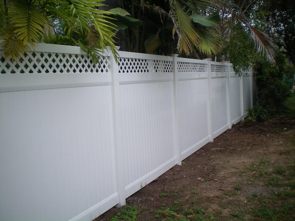 Vinyl Pro Fence 90 Photos Building Supplies Mission