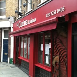 La cucina closed italian 2 3 cowcross street - Cucina restaurant london ...