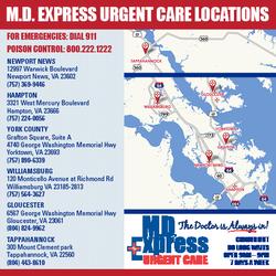 M D Express Urgent Care Urgent Care 300 Mount Clement Park