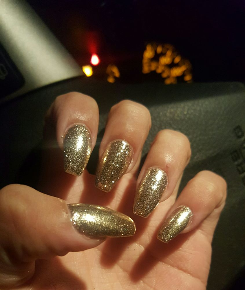 Acrylic fill with gel yelp for Euphoria nail salon