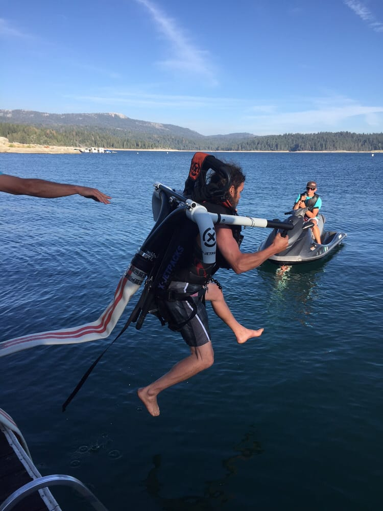 Jet pack yelp for Shaver lake fishing report