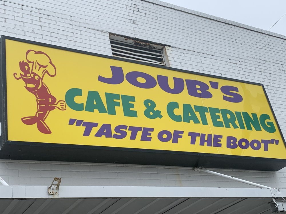 Food from Joub's Taste of The Boot