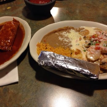Photo Of Pueblo Mexican Restaurant Lawrence Ks United States Beef Tamale With